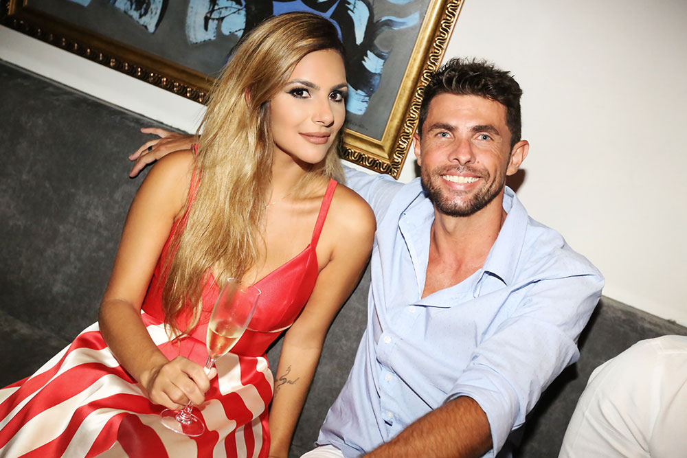 Monique Sainz e Filipe Dias